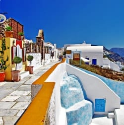 Santorini Airport transfers Guide
