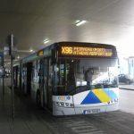 Athens airport bus (X96) to Piraeus port