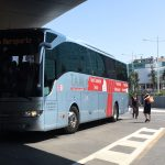 Rome Airport Bus at Fiumicino Airport