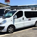 Airport Shuttle at the Fiumicino Airport Rome, FCO