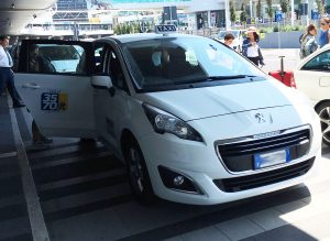 Rome Airport Taxi at Fiumicino FCO