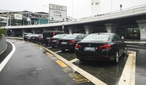 Pre-booked private transfers cars at Fiumicino Rome Airport