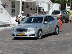 Taxi in Santorini
