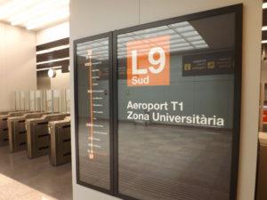 Barcelona Airport Metro Line