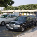 Taxis at Larnaca airport