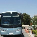 Kapnos bus station at airport