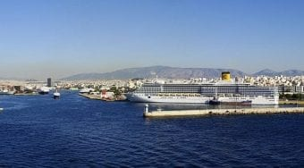 Rafina port Welcome