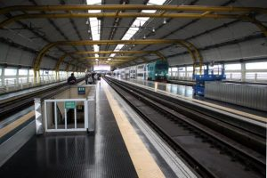 Fiumicino train station