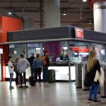 Madrid airport renfe train ticket counter