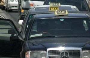 Taxis at Paphos airport