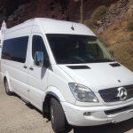 Santorini airport transfer - Minivan
