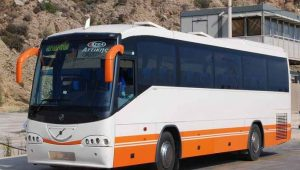 Athens airport bus to Rafina port