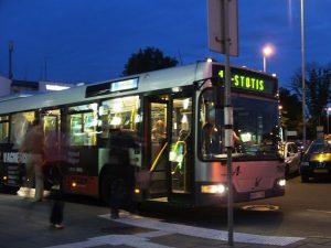 Bus at Chania airport
