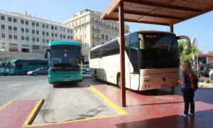Bus station in Heraklion