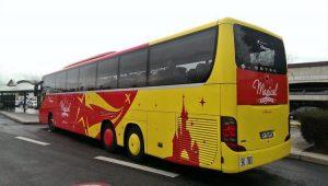 Charles de Gaulle (CDG) airport bus to Disneyland