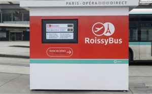 Charles de Gaulle airport Bus - ticket sales
