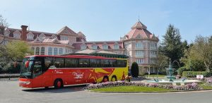 Shuttle bus to Disneyland