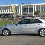 Taxi at Nikos Kazantzakis airport