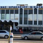 Taxi rank at Heraklion airport