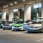 CDG airport taxis on the official ranks
