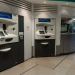 Orlyval airport automated tram ticket machines