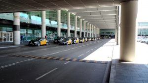 Barcelona airport taxi to Sitges
