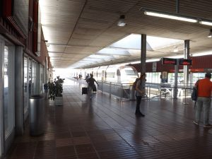 Train Station - Barcelona airport to Sitges