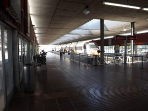 Train station at Barcelona airport to Tarragona
