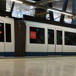madrid airport metro train