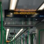 madrid metro interior
