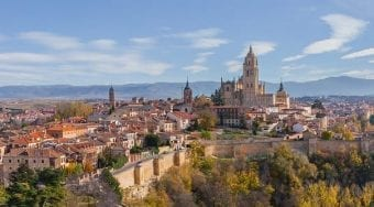 day trip to segovia from madrid