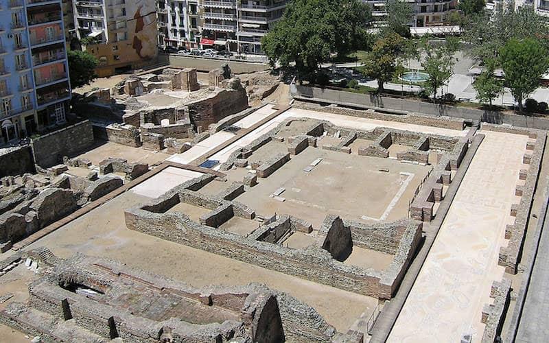 Galerius' Palace-thessaloniki