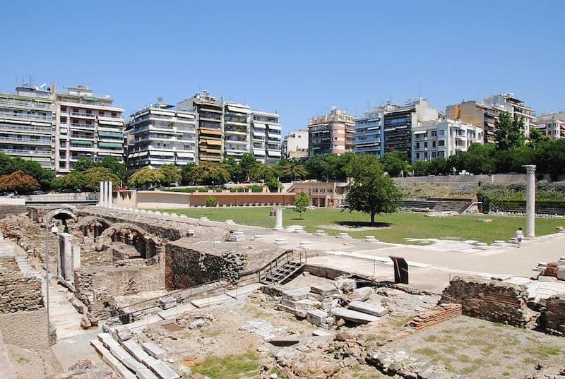 Roman Forum in Thessaloniki