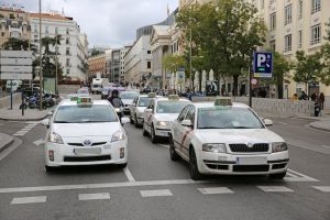 Taxis in Madrid