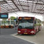 Amsterdam airport bus to city