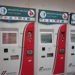 milan airport train ticket machine