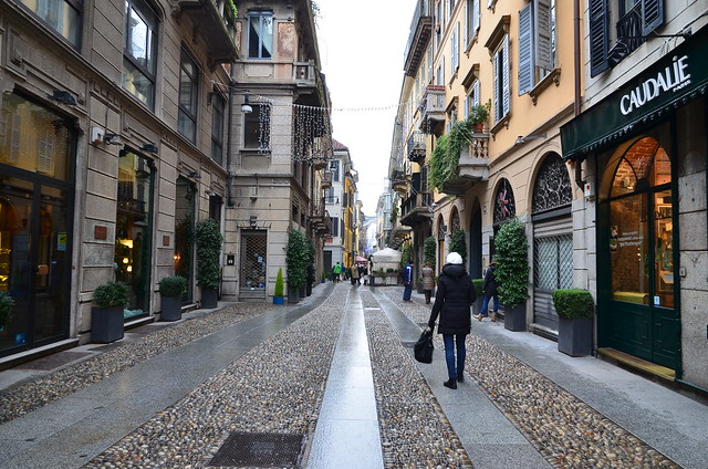 Brera District Milan