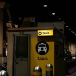 Heathrow airport official taxi stand