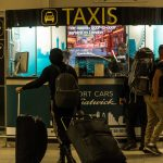Gatwick airport official taxi stand