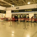 Gatwick Express train ticket counters