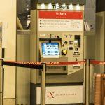 Gatwick Express train automated ticket machines