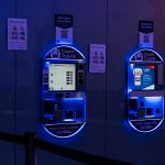 Heathrow airport automated National Express bus ticket machines