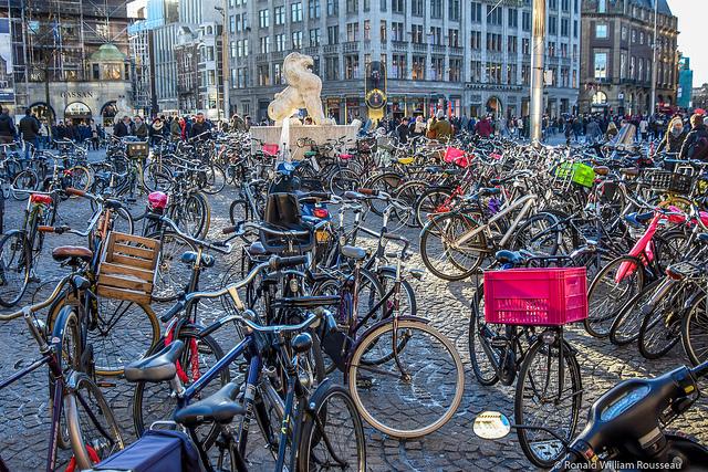 Dam Square bikes