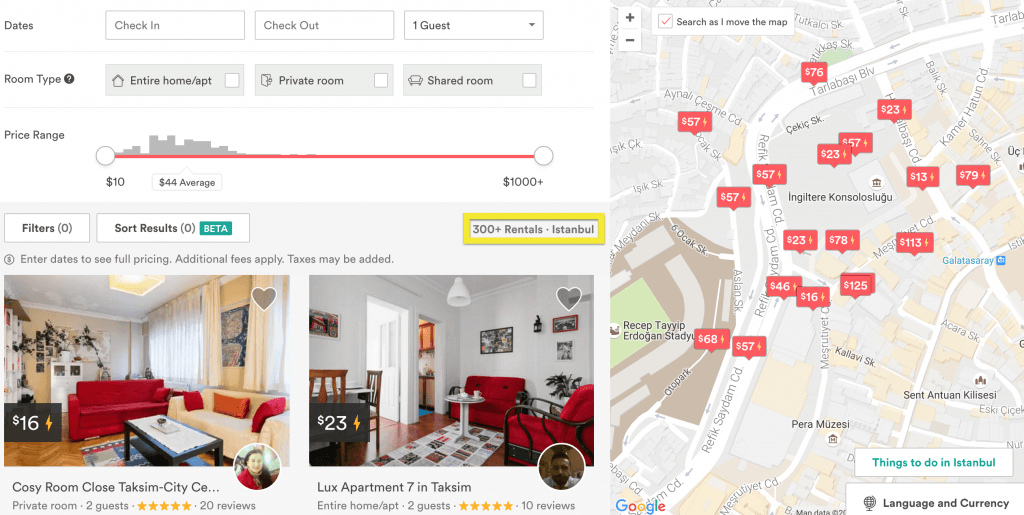 how to write airbnb listing
