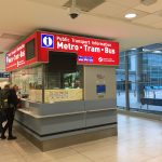 Prague airport Public Transport Information counter