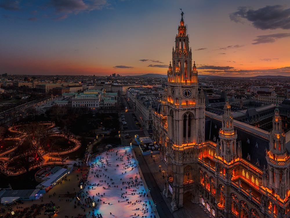 Vienna wiener eistraum