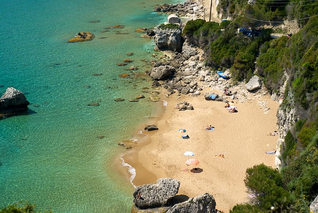 Corfu-Myrtiotissa-Beach