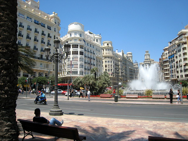Valencia Plaça de l'Ajuntament