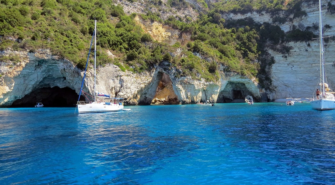 paxoi caves day trip