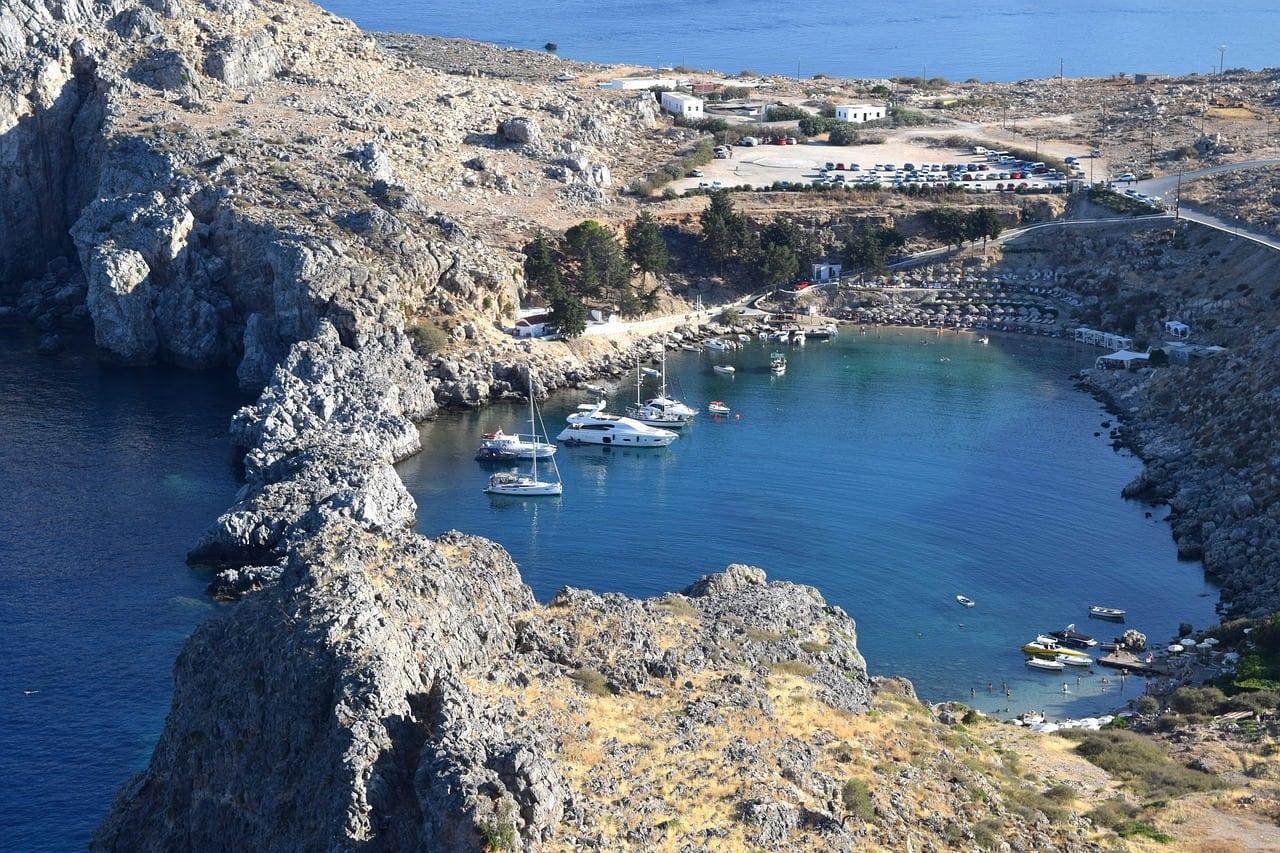 rhodes greece best beaches
